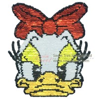 Factory supply sequin embroidery of carton animal shapes